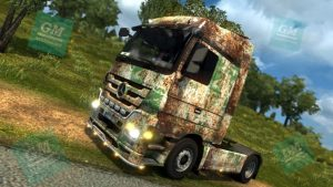 ETS2 - Mercedes Actros Rusty Skin Mod