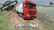 SpinTires - Mercedes-Benz Actros MP4