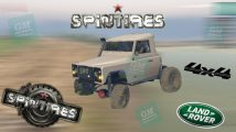 SpinTires-Land Rover Truggy Araba Modu