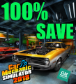 100% Save Game - Car Mechanic Simulator 2018