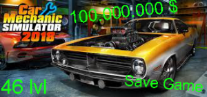 Save Game - Car Mechanic Simulator 2018