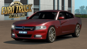 Euro Truck Simulator 2 1.31.X - Dodge Charger 2016 MOD