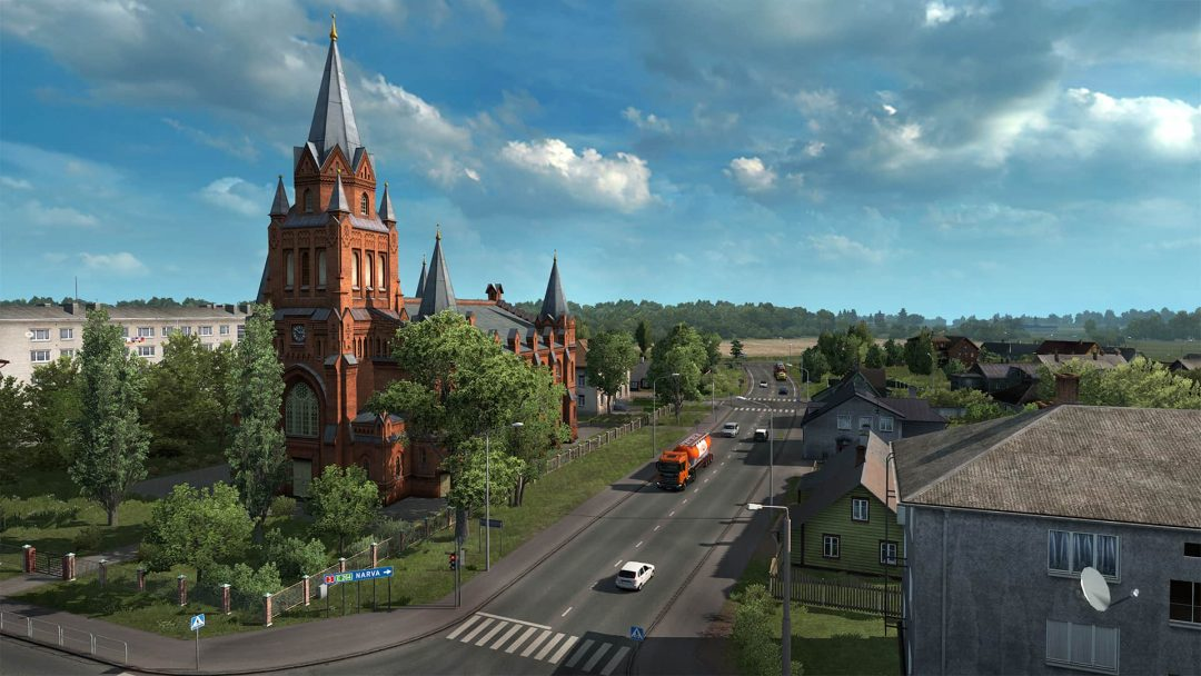 ETS 2 icin Beyond the Baltic Sea DLC yayinlandi