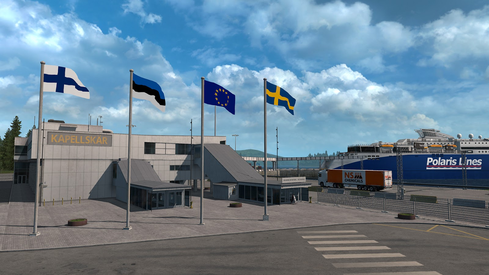 ETS2 DLC Beyond the Baltic Sea