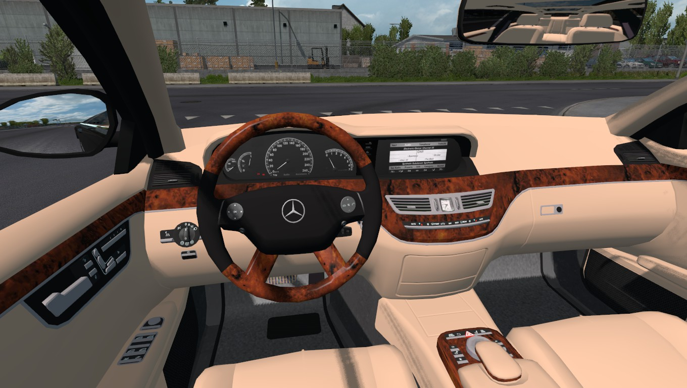 ETS 2 - Mercedes-Benz s350 4matic 2009 MOD